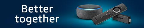Amazon Fire TV Stick with Alexa Voice Remote + Echo Dot