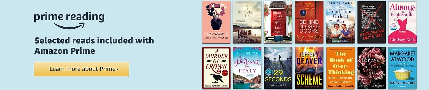 Selected reads for Prime members for £0.00