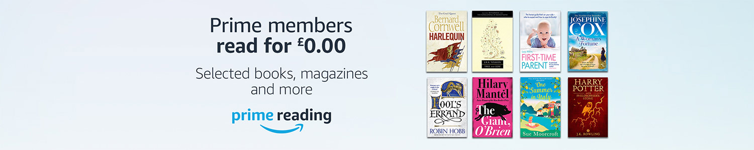 Prime reading. Prime members read for £0.00. Books, magazines and more.