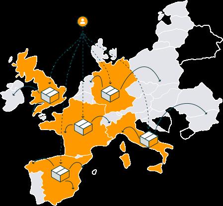 El Programa Paneuropeo de Logística de Amazon