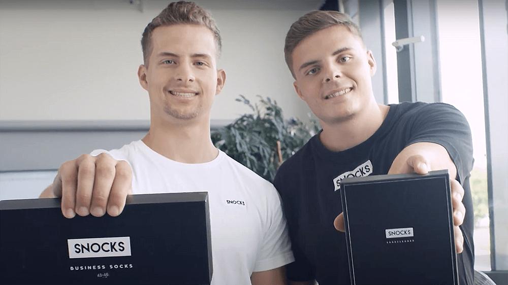 Felix Bauer and Johannes Kliesch Founder, Snocks