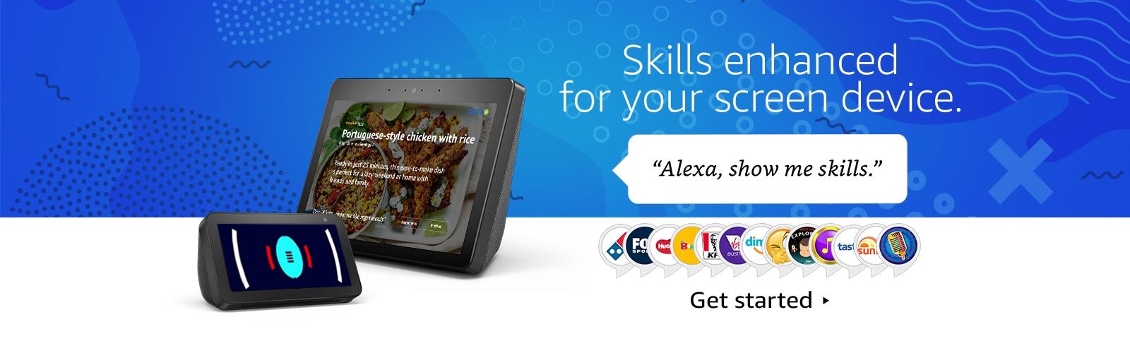 Alexa, show me skills