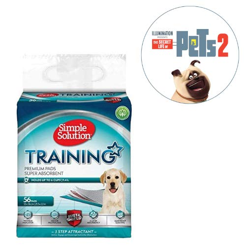 Over 20% off Simple Solution Premium Dog and Puppy Training Pads (Pack of 100) and more