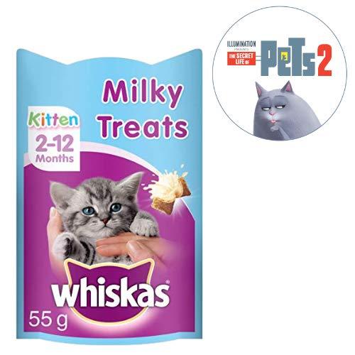 Whiskas Kitten Milky Treats, 55 g (Pack of 8)