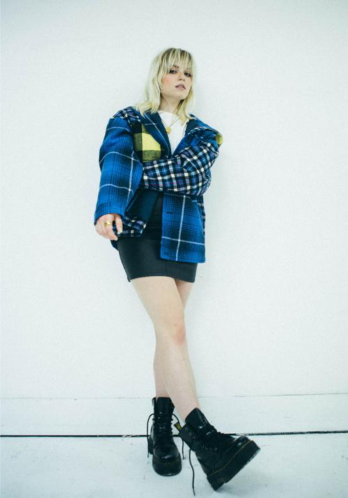 Skirt look