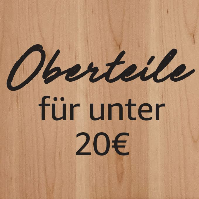 Oberteile für unter 20€