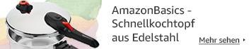 AmazonBasics - Schnellkochtopf aus Edelstahl