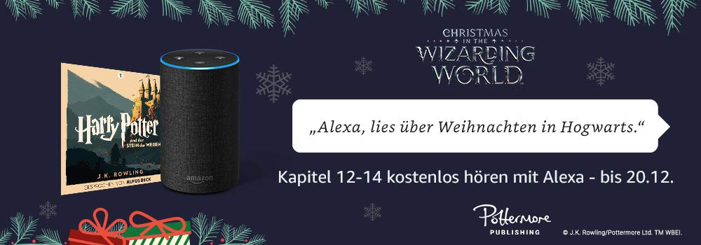Harry Potter auf Alexa