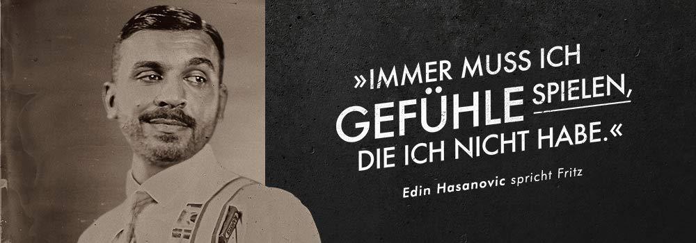 Edin Hasanovic spricht Fritz