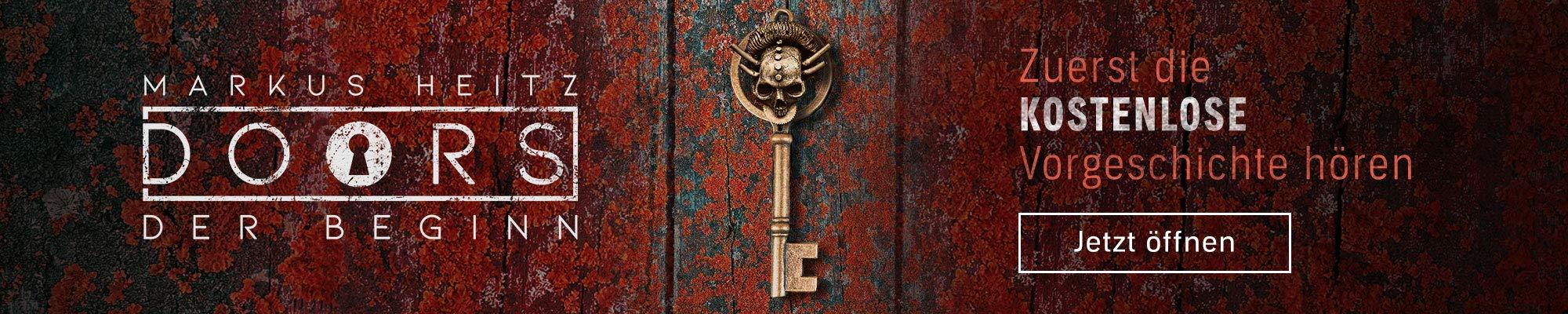 """Zuerst kostenlos die Vorgeschichte """"Doors - Der Beginn"""" hören. Jetzt öffnen"""