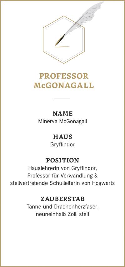 Harry Potter: Minerva McGonnagall