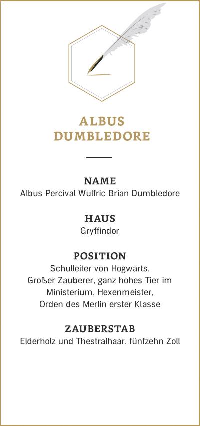 Harry Potter: Albus Dumbledore