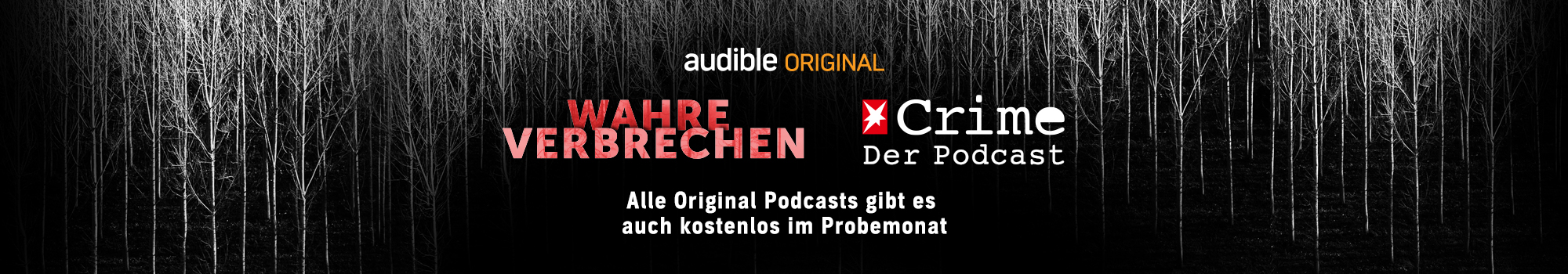 Audible Original Podcast - Wahre Verbrechen Stern Crime