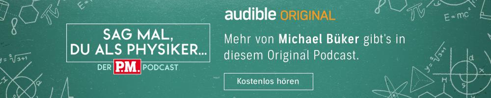 Michael Büker bei Sag mal, du als Physiker | Audible Original Podcast