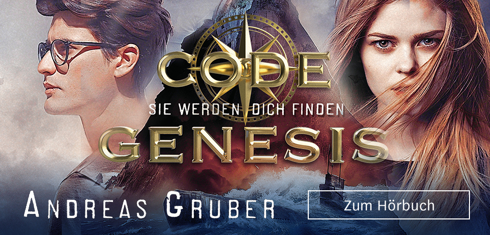 Sie werden dich finden (Code Genesis 1) von Andreas Gruber