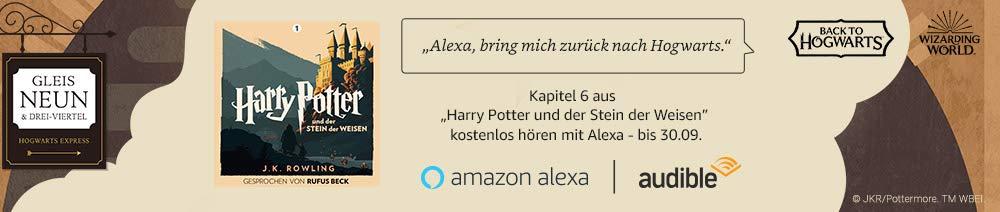 Harry Potter - Alexa Listening Experience