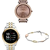 Oferta en relojes y joyas Fossil, Michael Kors y más