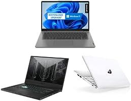 Laptops von Lenovo, HP und ASUS