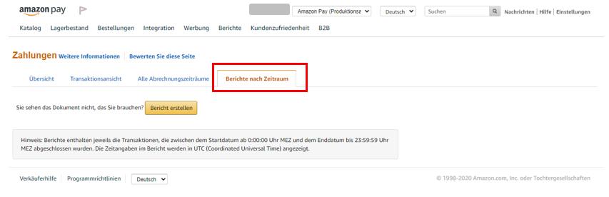 Amazon Pay Setzt Die Verbesserung Der Benutzeroberfläche Mit Einer Neuen übersicht Der Konsolidierten Bilanz Fort Amazon Pay Blog