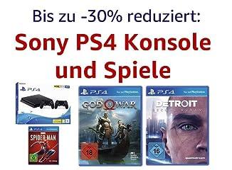 Bis zu 30% reduziert: Sony PS4 Konsole und Spiele