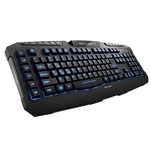 Sharkoon Skiller Pro beleuchtete Gaming Tastatur: Amazon
