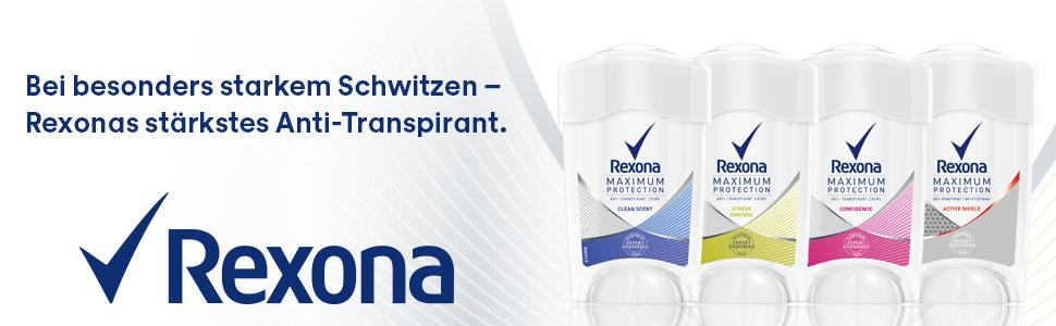 rexona maximum protection aluminium anteil