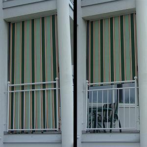 angerer balkon sichtschutz nr 9100 gr n 150 cm breit. Black Bedroom Furniture Sets. Home Design Ideas