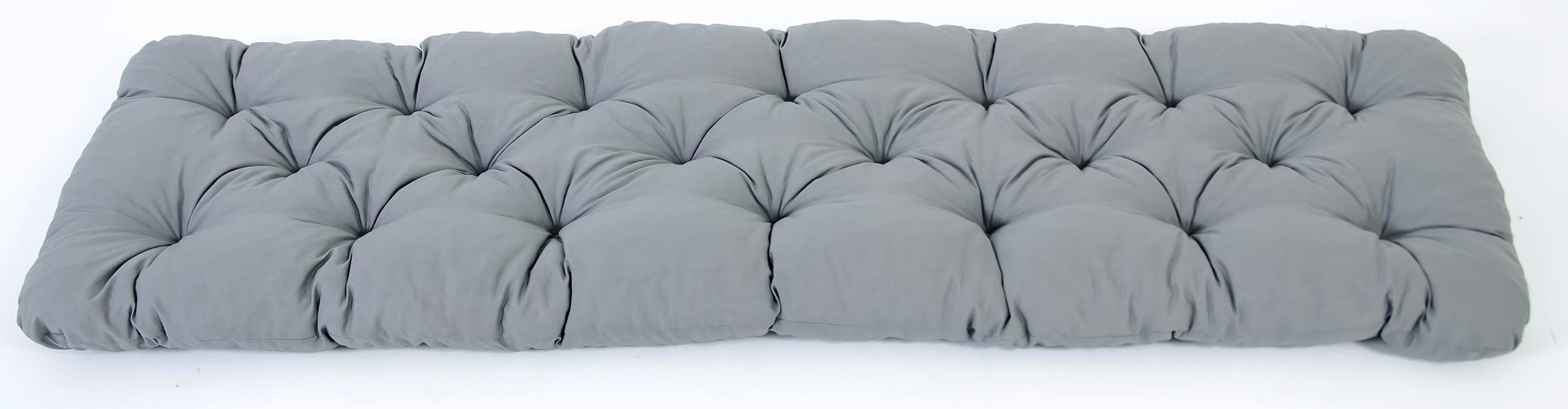 ambientehome 3er sitzkissen bank evje grau ca. Black Bedroom Furniture Sets. Home Design Ideas