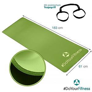 yogamatte pilatesmatte fitness-matte trainings-matte