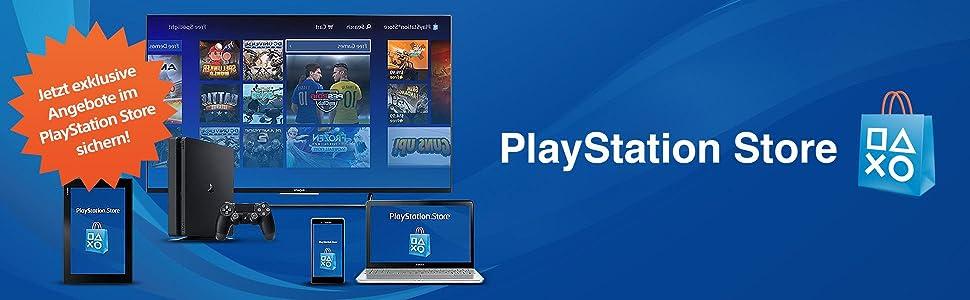 PlayStation Store Guthaben-Aufstockung 10 EUR [PS4, PS3