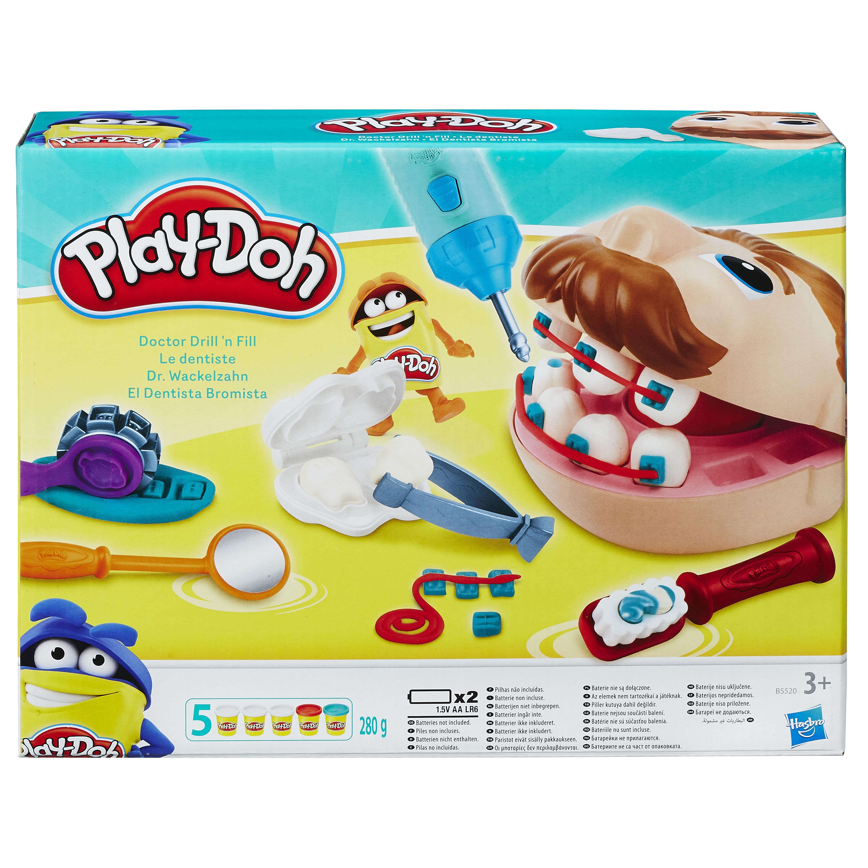 Play-Doh B5520EU4 - Dr. Wackelzahn Knete: Amazon.de: Spielzeug