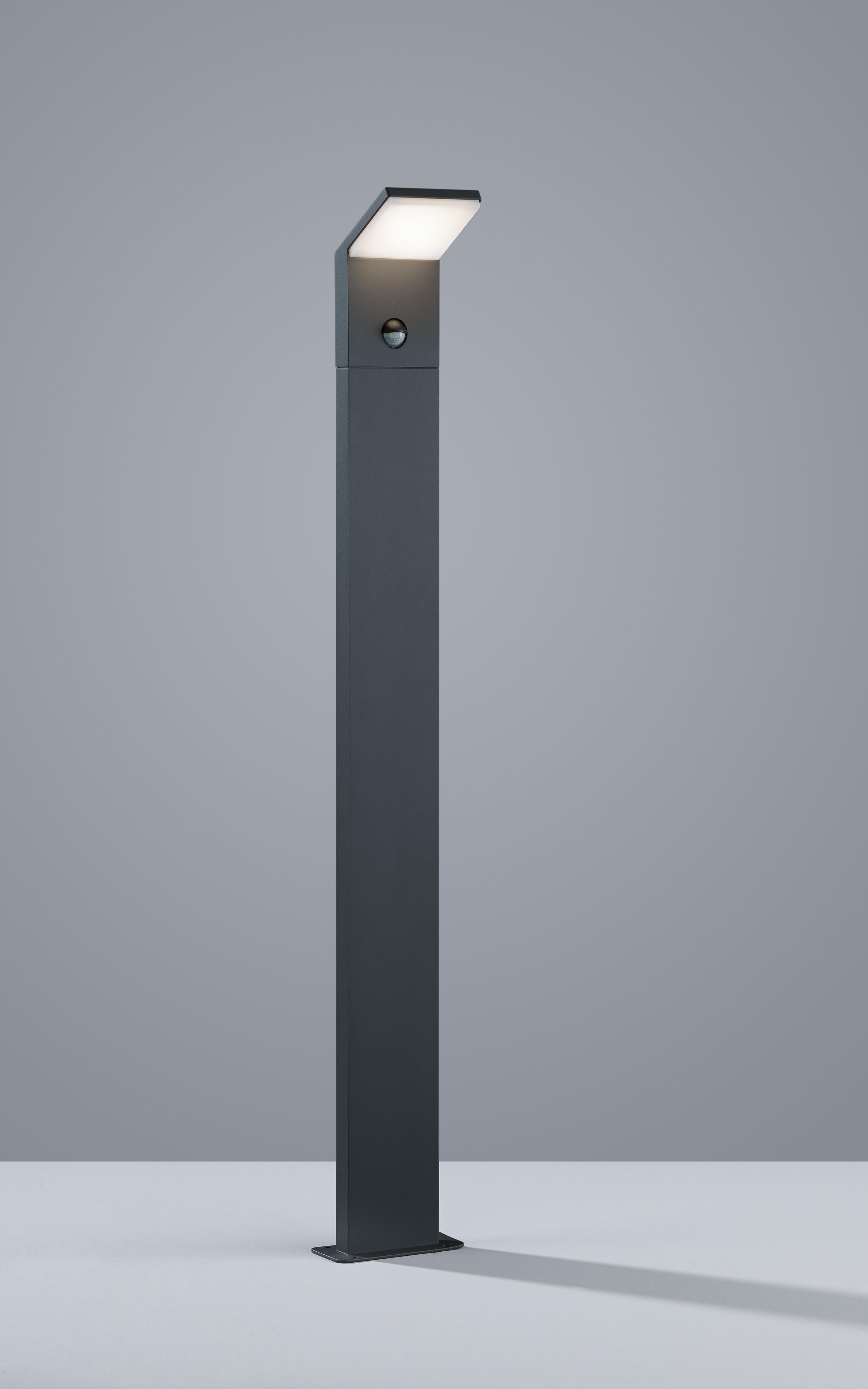 trio leuchten led aussen pollerleuchte pearl aluminiumguss anthrazit 521169142. Black Bedroom Furniture Sets. Home Design Ideas