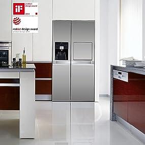 emejing küche mit amerikanischem kühlschrank photos - home design ... - Küche Mit Amerikanischem Kühlschrank
