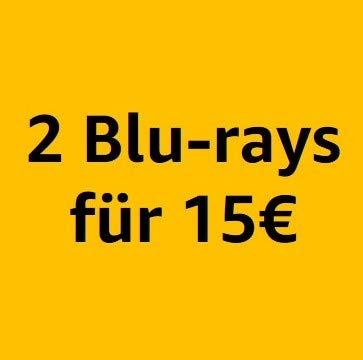 2 Blu-rays für 15€