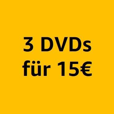 3 DVDs für 15€