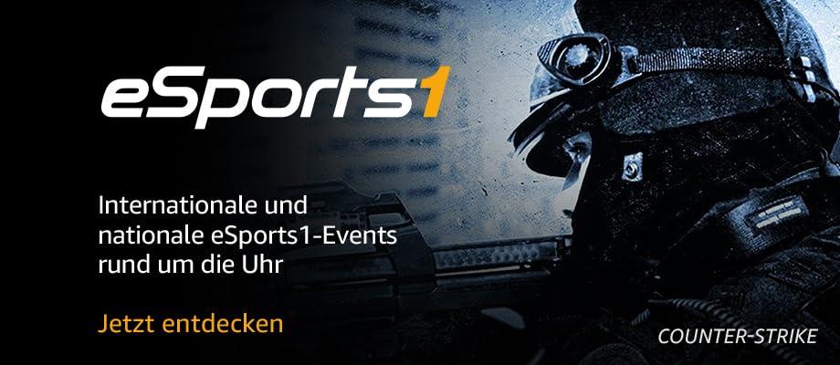 Internationale und nationale eSports1-Events rund um die Uhr