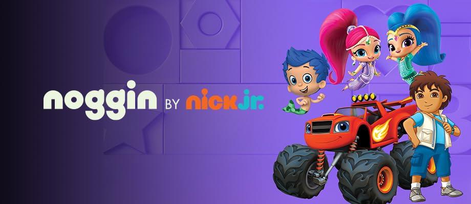 Endloser Lernspaß für Kinder mit ihren Lieblingscharakteren von Nick Jr.