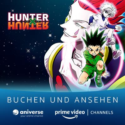 Jetzt 14 Tage gratis!: Aniverse Channel Launch von Amazon