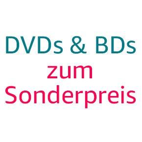 Blu-rays und DVDs zum Sonderpreis