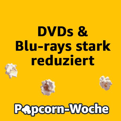 Popcorn-Woche: Mehr als 4000 Filme und Serien reduziert