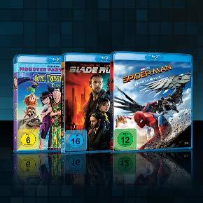 4 Filme für 22 EUR