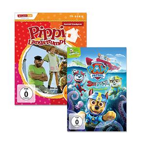 DVDs & Blu-rays für Kinder: Bis zu 40 % reduziert
