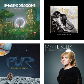 CDs, Vinyl & Boxsets reduziert