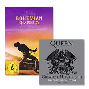 Queen & Bohemian Rhapsody: Bis zu 38% reduziert