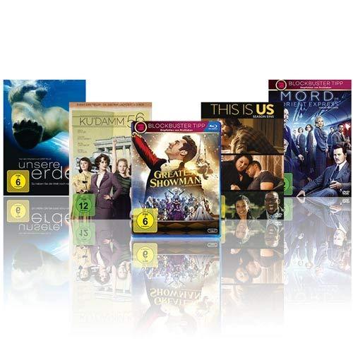 DVD & Blu-ray: 5 kaufen, 3 bezahlen