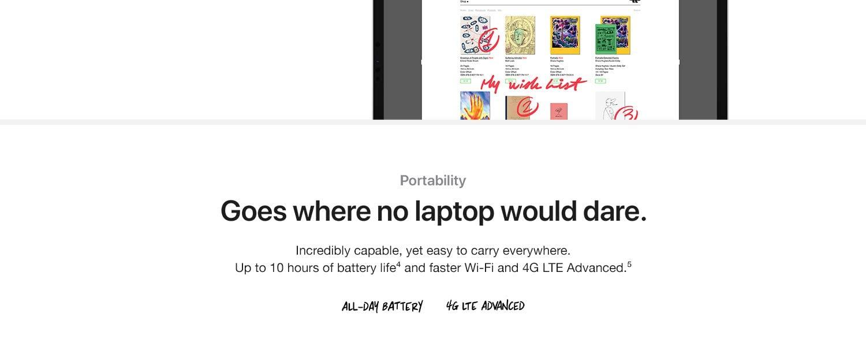 200 Apple iPad Pro 200 inch, Wi Fi, 200GB   Space Grey 20nd ...