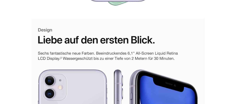 Apple iPhone 11 (128 GB) - Violett: Amazon.de: Alle Produkte