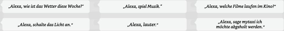Alexa....utterances