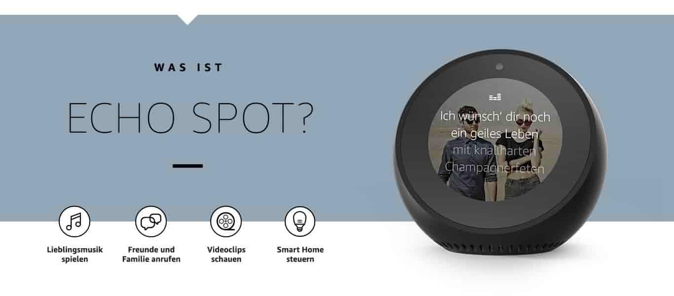 Was ist Echo Spot?