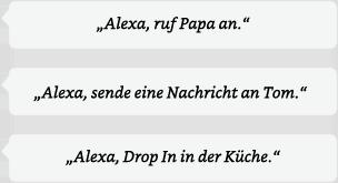 Alexa Anrufe